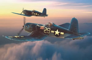 Chance Vought F4U Corsair airplane