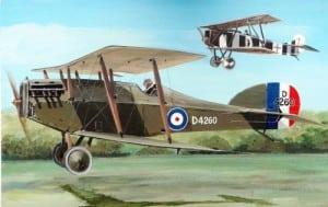 Martinsyde F.4 Buzzard airplane