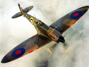 Supermarine Spitfire airplane