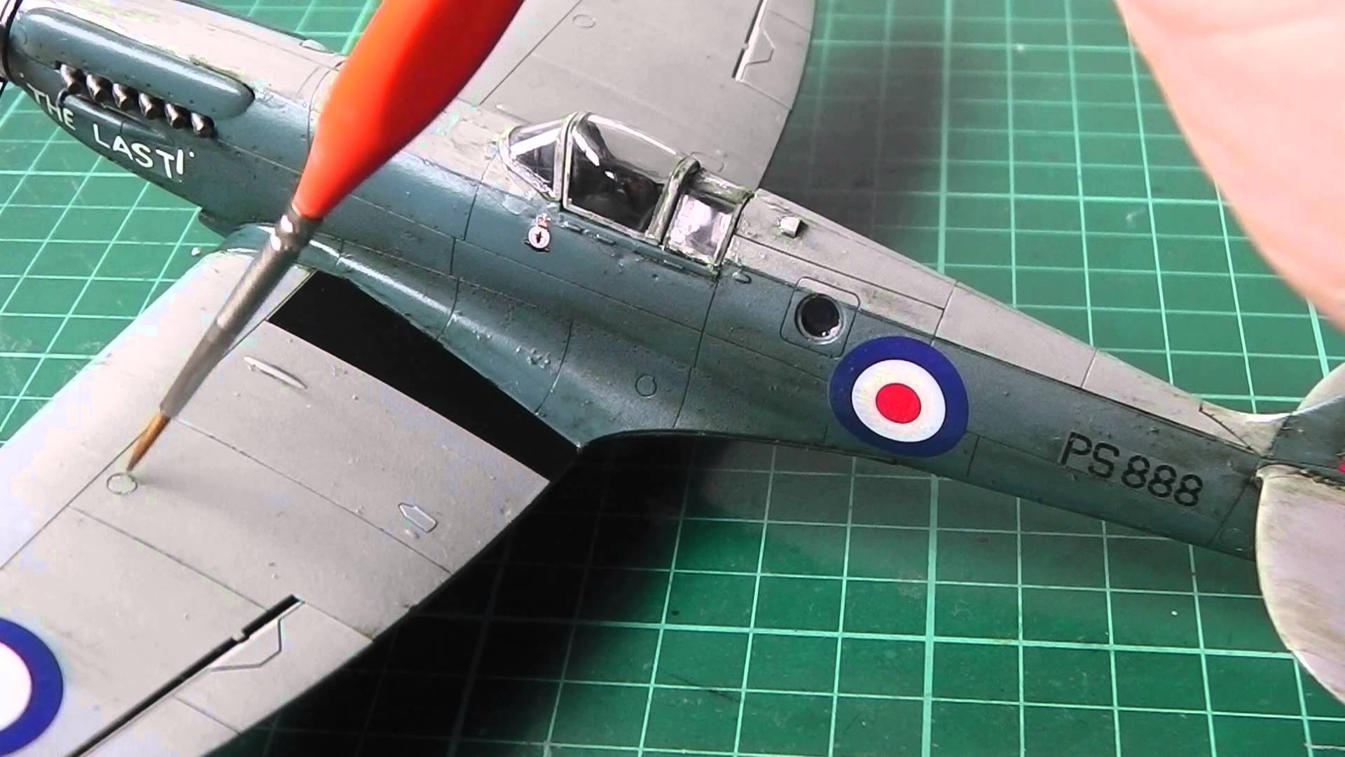 Weathering Model Aircraft - Part 1 [Plastic Model Airplane